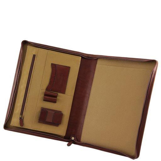 Marzio Esclusivo portadocumenti in pelle Marrone FC140986