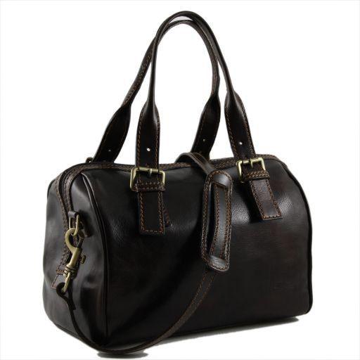 Martina Women's leather mini duffle Темно-коричневый TL141026