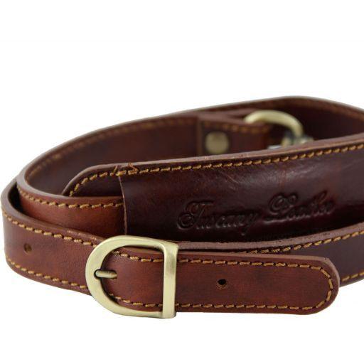 Bandolera ajustable en piel para bolsos de viaje Miel SP141028