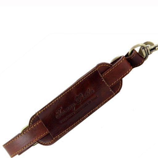 Tracolla in pelle regolabile per cartelle Testa di Moro SP141029