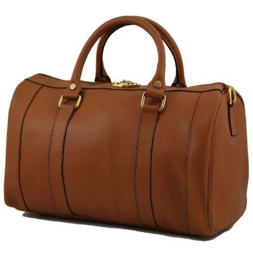 "TL Bag Sac à main en cuir ""Bauletto"" Sarcelle TL141079"