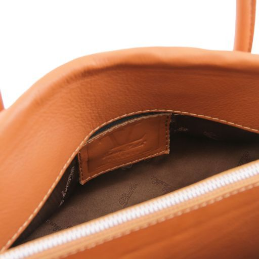 TL Bag Borsa morbida con nappa e tracolla Blu TL141091