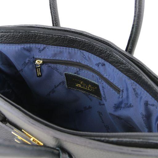 TL KeyLuck Borsa a mano media con accessori oro Blu TL141092