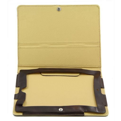 Leather iPad case Rot TL141112