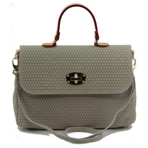TL Venere Handtasche aus Leder Hell Taupe TL141147