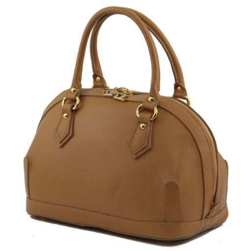 TL Bag Leather mini duffle Бирюзовый TL141158