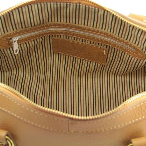 TL Bag Bauletto in pelle piccolo Cognac TL141158