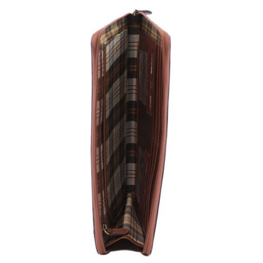 Ottaviano Esclusivo portadocumenti in pelle Marrone FC141178