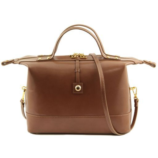 TL Bag Bauletto medio in pelle Caramello TL141190