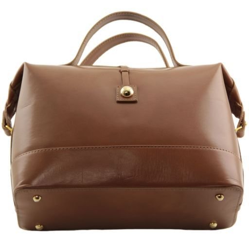 TL Bag Bauletto medio in pelle Miele TL141190