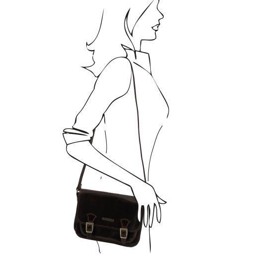 San Marino Borsa da donna in pelle - Modello piccolo Nero TL141200