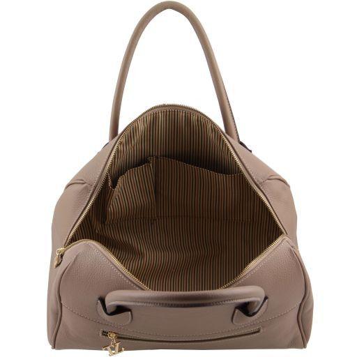 TL Bag Bauletto in pelle con accessori oro Nero TL141210