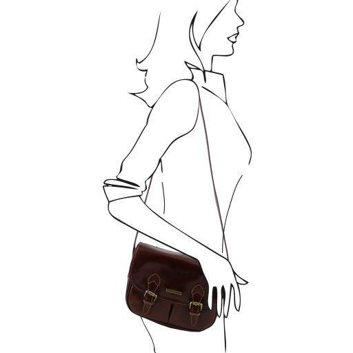 Michelle Borsa in pelle con tracolla regolabile Miele TL141238