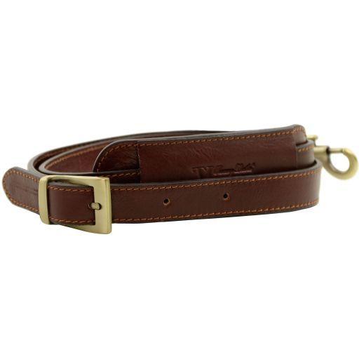 TL Voyager Adjustable leather shoulder strap Schwarz SP141276