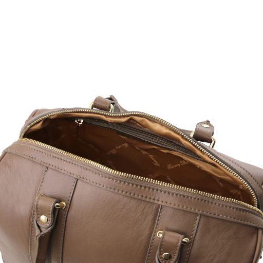 TL KeyLuck Bauletto in pelle morbida con accessori color oro Corallo TL141284