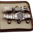 Эксклюзивный дорожный кожаный футляр для часов Черный TL141292
