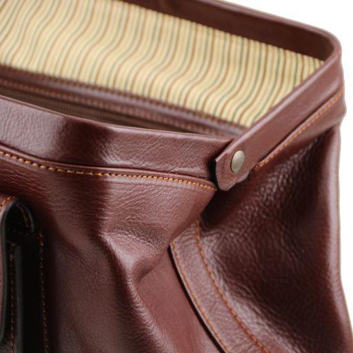 Leonardo Esclusiva borsa medico in pelle Miele TL141299