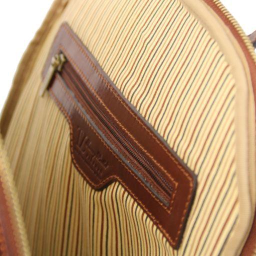 Osaka Zaino porta notebook in pelle Miele TL141308