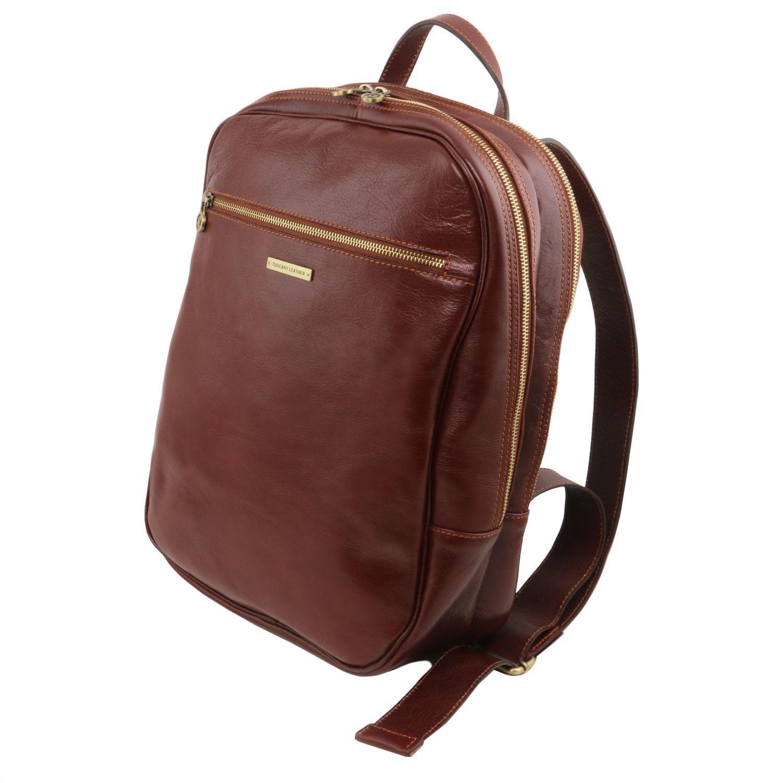 Рюкзак кожаный для ноутбука чехол-рюкзак для коньков