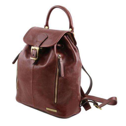 Jakarta Кожаный рюкзак Темно-коричневый TL141341