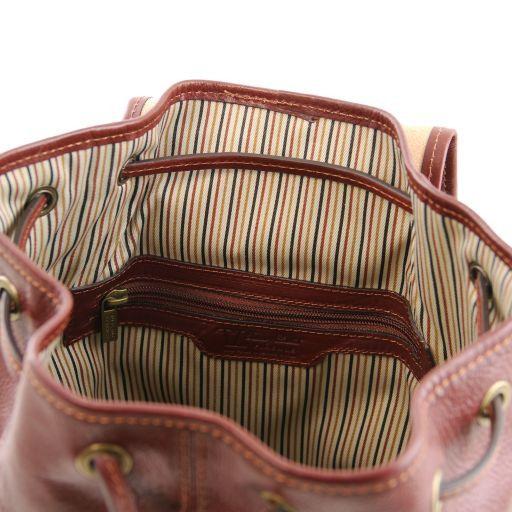 Jakarta Leather Backpack Brown TL141341