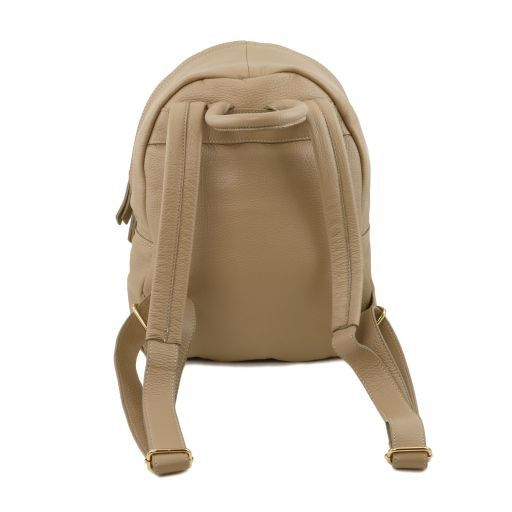 TL Bag Soft leather backpack for women Коралловый TL141370