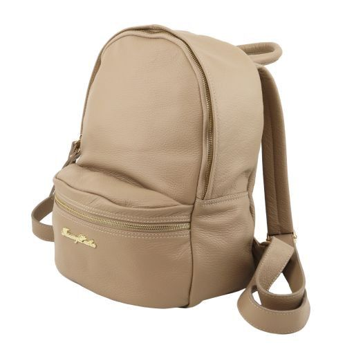 TL Bag Soft leather backpack for women Светло-голубой TL141370