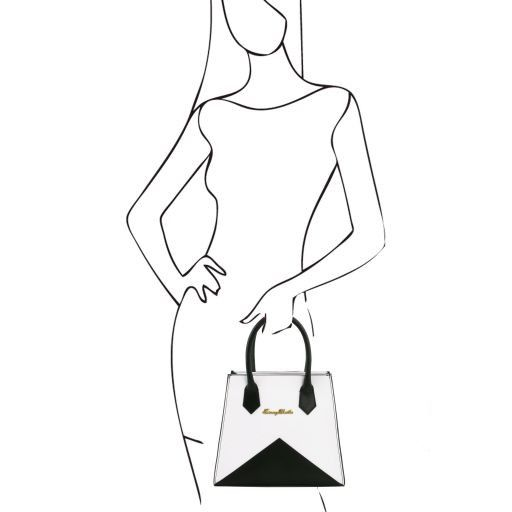 Afrodite Borsa Origami in pelle Giallo TL141374