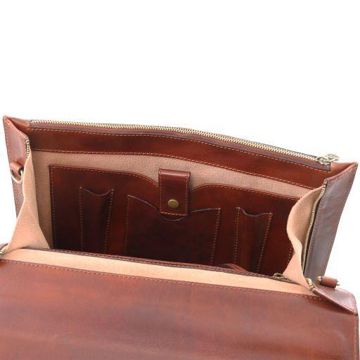 Como Cartella portadocumenti in pelle Rosso TL141385