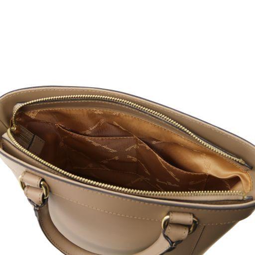 Demetra Borsa secchiello da donna in pelle Grigio chiaro TL141410