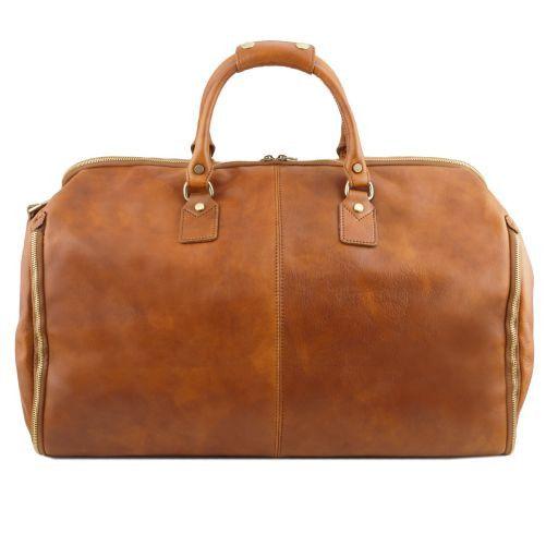 Antigua Borsone da viaggio/Porta abiti in pelle Marrone TL141538