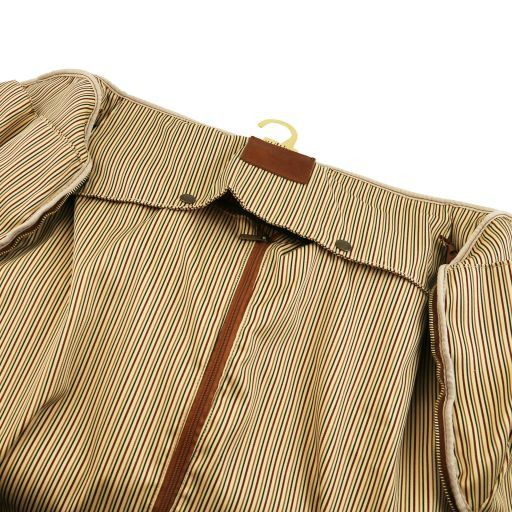 Antigua Borsone da viaggio/Porta abiti in pelle Testa di Moro TL141538