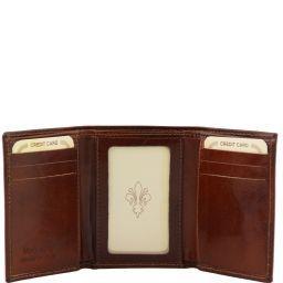 Esclusivo portafoglio in pelle Testa di Moro TL140801