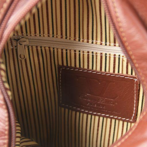 Shanghai Zaino in pelle morbida Beige TL141608
