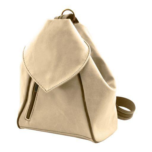 Delhi Рюкзак из мягкой кожи Синий TL141623