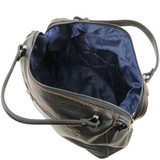 TL Bag Bauletto in pelle morbida Nero TL141629