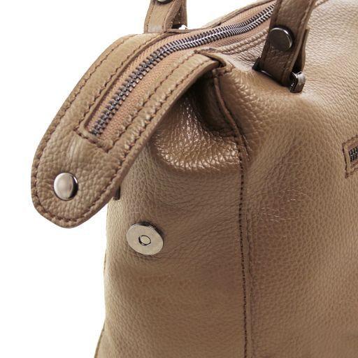 TL Bag Bauletto in pelle morbida Talpa scuro TL141629