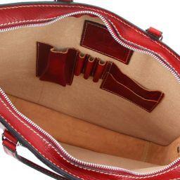 Alba Cartella donna in pelle 1 scomparto Rosso TL140961