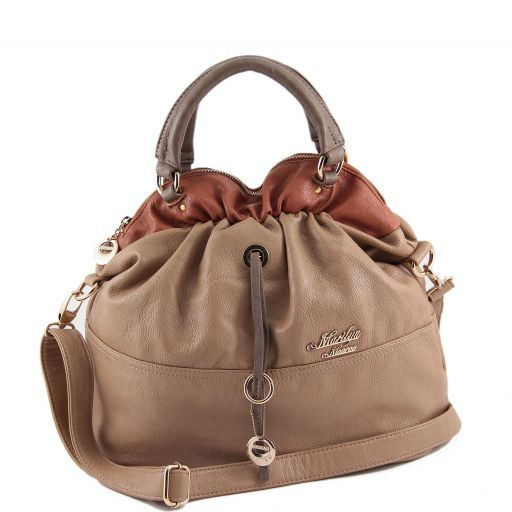 Marilyn Monroe Beuteltasche Hell Taupe MM973