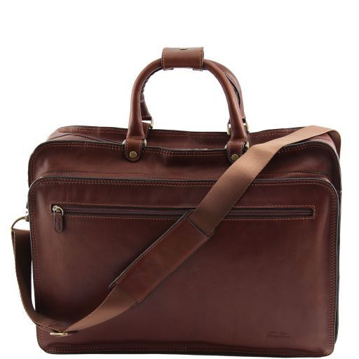 Viterbo Cartella portanotebook in pelle Marrone FC140980