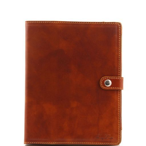 Leather iPad case Мед TL141001
