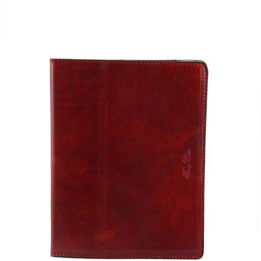 Esclusivo porta iPad in pelle Rosso TL141001