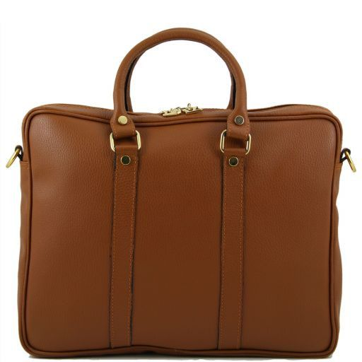 TL Bag Borsa executive in pelle Cognac TL141077