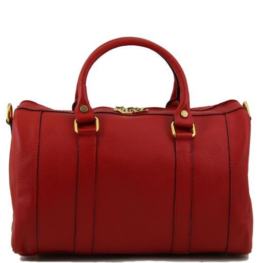 TL Bag Leather duffel bag Красный TL141079