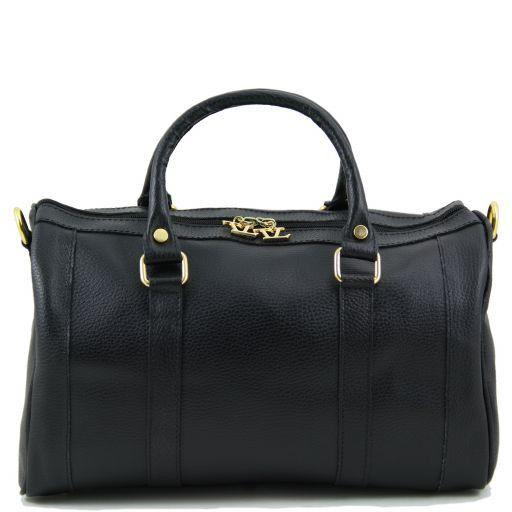 TL Bag Bauletto medio in pelle Nero TL141079