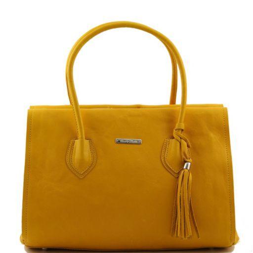 TL Bag Borsa morbida con nappa e tracolla Giallo TL141091