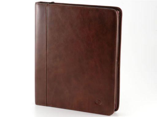 Enrico VIII Leather - Document case Dark Brown TL10093