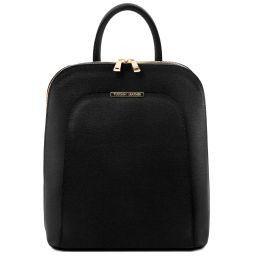 TL Bag Saffiano leather backpack for women Черный TL141631