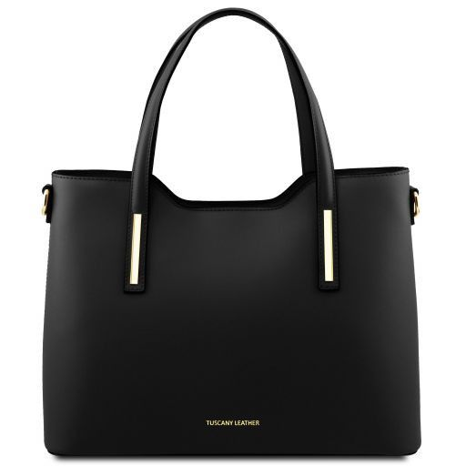 Olimpia Leather tote Черный TL141412