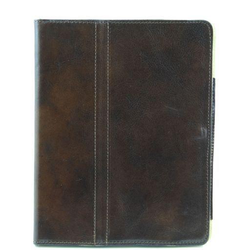 Esclusivo porta iPad in pelle Marrone TL141112